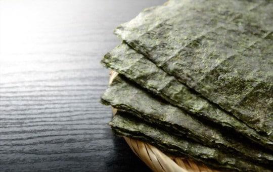 nutritional benefits of nori