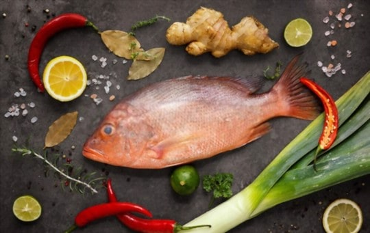 nutritional benefits of red snapper