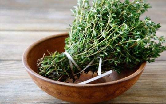 nutritional health benefits of thyme