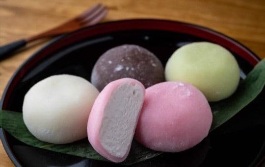 types of mochi