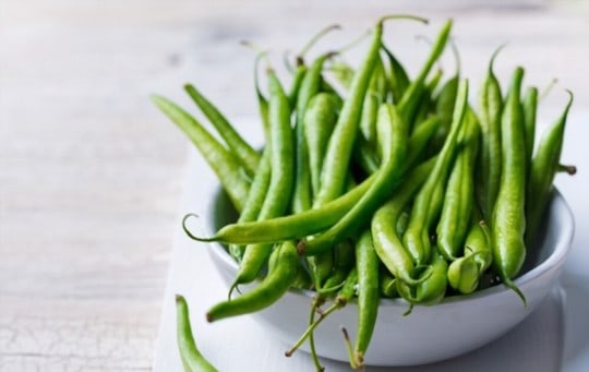 what are green beans
