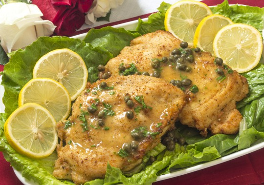 what is chicken piccata