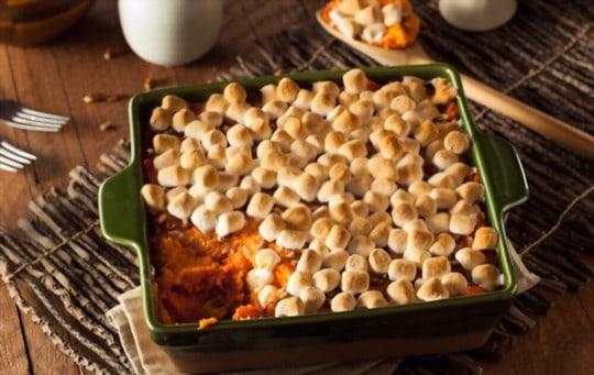 why consider freezing sweet potato casserole