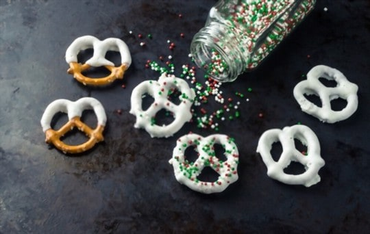 does freezing affect chocolate covered pretzels