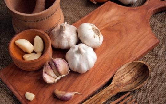does freezing affect garlic