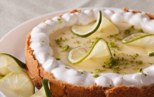 does freezing affect key lime pie