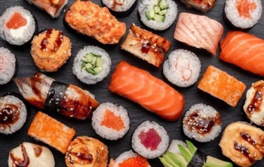 does freezing affect sushi