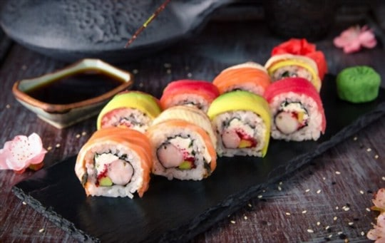 how to freeze sushi