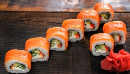 how to tell if frozen sushi is bad
