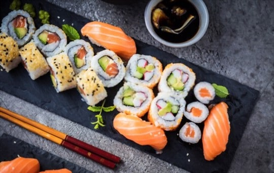 how to thaw frozen sushi