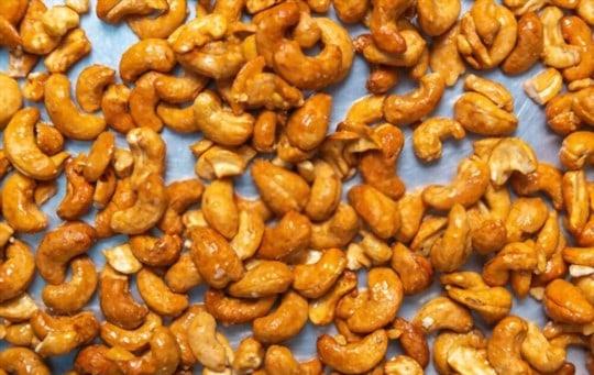baked cashews two ways