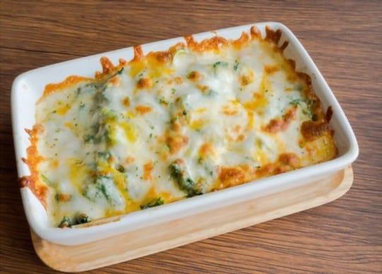 creamy cheesy spinach potato chunks