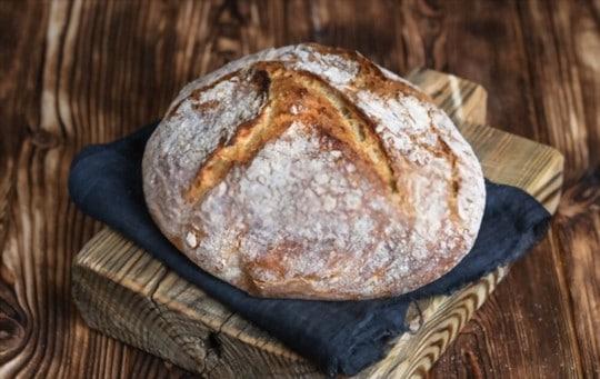 does freezing affect sourdough bread