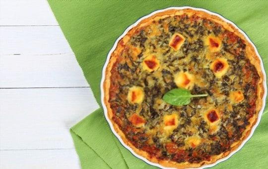 easy cheesy spinach quiche