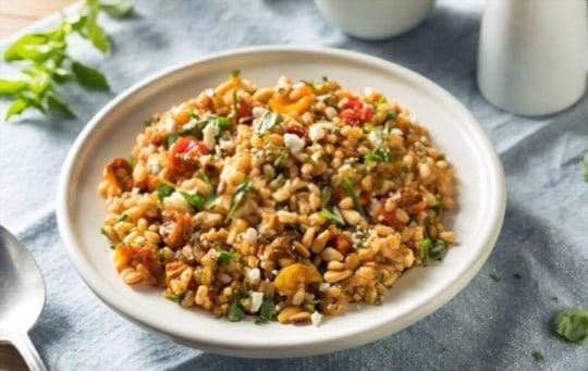 herbed grain salad