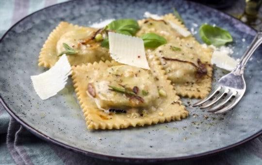 rosemary cheese ravioli