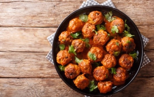 why consider serving side dishes for chicken meatballs