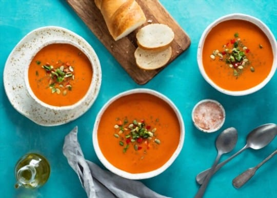 why consider serving side dishes for gazpacho