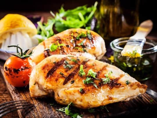 why consider serving side dishes for grilled chicken