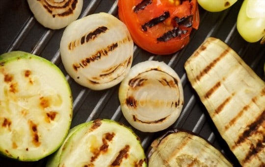 grilled zucchini and onions