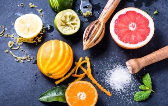 other citrus fruit zest