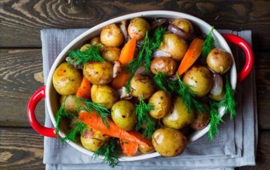 steamed or roasted veggies