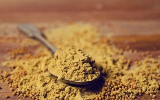 what is mustard powder
